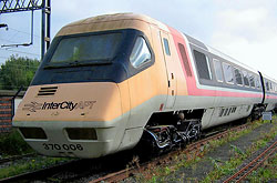 Advanced Passenger Train Prototyp in Crewe
