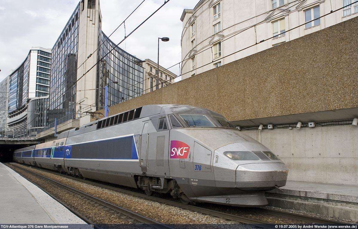 Schnellzug Frankreich