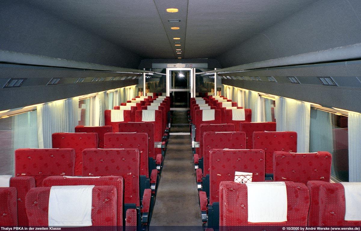 Bildergalerie mit schönen Aufnahmen vom Thalys PBKA