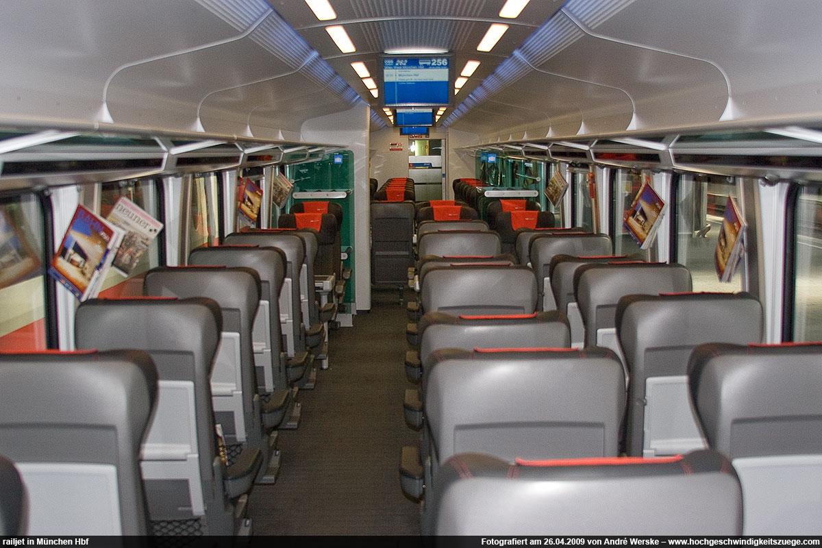 Business Class Railjet